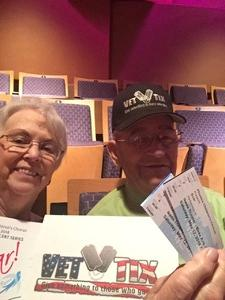 Thomas attended Spring Concert: Soar on May 12th 2018 via VetTix