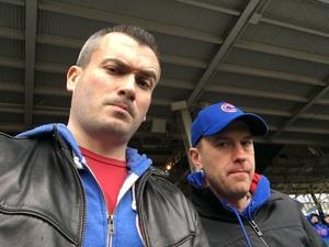 Alex attended Chicago Cubs vs. Atlanta Braves - MLB on Apr 13th 2018 via VetTix
