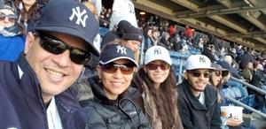 Bolivar Baez attended New York Yankees vs. Baltimore Orioles - MLB on Apr 8th 2018 via VetTix