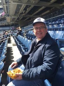 Glenn attended New York Yankees vs. Baltimore Orioles - MLB on Apr 8th 2018 via VetTix