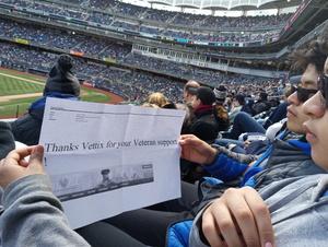 David Torres attended New York Yankees vs. Baltimore Orioles - MLB on Apr 8th 2018 via VetTix