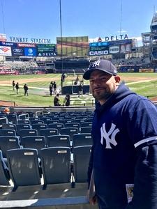 Charles attended New York Yankees vs. Baltimore Orioles - MLB on Apr 8th 2018 via VetTix