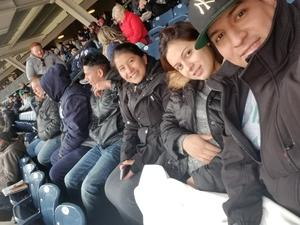 robert attended New York Yankees vs. Baltimore Orioles - MLB on Apr 8th 2018 via VetTix