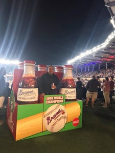 Cesar attended Atlanta Braves vs. New York Mets - MLB on Apr 20th 2018 via VetTix