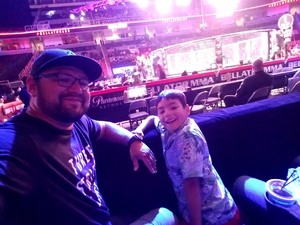 Segifredo attended Bellator 199 - Bader vs. King Mo - Mixed Martial Arts - Presented by Bellator MMA on May 12th 2018 via VetTix