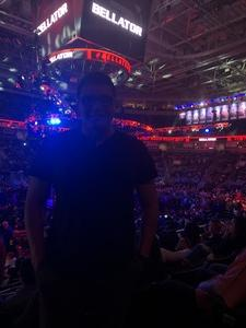 Daniel attended Bellator 199 - Bader vs. King Mo - Mixed Martial Arts - Presented by Bellator MMA on May 12th 2018 via VetTix