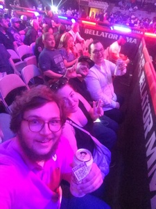 Nicholas attended Bellator 199 - Bader vs. King Mo - Mixed Martial Arts - Presented by Bellator MMA on May 12th 2018 via VetTix