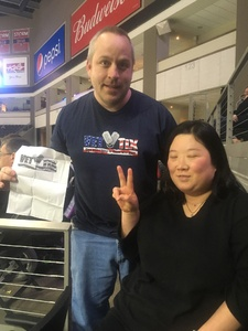 Troy attended Sioux Falls Storm vs. Nebraska Danger - IFL on May 12th 2018 via VetTix
