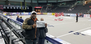 Dwight attended Sioux Falls Storm vs. Nebraska Danger - IFL on May 12th 2018 via VetTix
