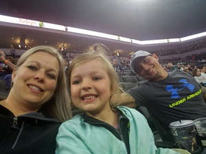 Jennifer attended Sioux Falls Storm vs. Nebraska Danger - IFL on May 12th 2018 via VetTix
