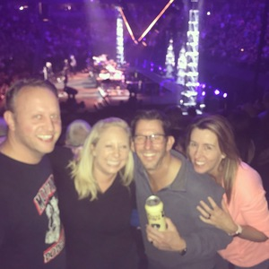 Arin attended Bon Jovi - This House Is Not for Sale Tour on Mar 14th 2018 via VetTix