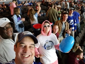 Frank attended Jacksonville Icemen vs. South Carolina Stingrays on Mar 31st 2018 via VetTix
