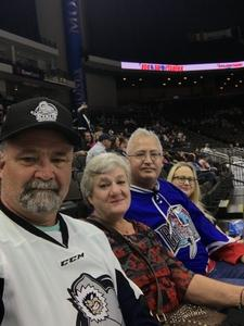 John attended Jacksonville Icemen vs. South Carolina Stingrays on Mar 31st 2018 via VetTix