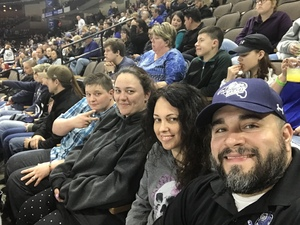James attended Jacksonville Icemen vs. South Carolina Stingrays on Mar 31st 2018 via VetTix