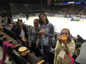 Ben attended Jacksonville Icemen vs. South Carolina Stingrays on Mar 31st 2018 via VetTix
