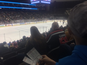 Ariel attended Jacksonville Icemen vs. South Carolina Stingrays on Mar 31st 2018 via VetTix