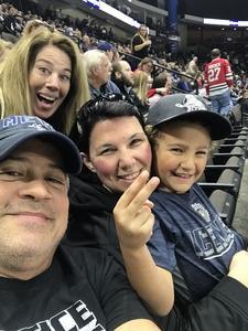 Stro attended Jacksonville Icemen vs. South Carolina Stingrays on Mar 31st 2018 via VetTix