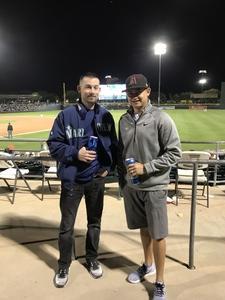 Thomas attended Oakland Athletics vs. Seattle Mariners - MLB Spring Training on Mar 15th 2018 via VetTix