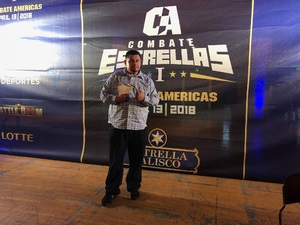 Gabriel D attended Combate Estrellas I - MMA in Los Angeles - Mixed Martial Arts - Presented by Combate Americas on Apr 13th 2018 via VetTix