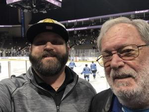 Richard attended Jacksonville Icemen vs. Florida Everblades - ECHL on Apr 6th 2018 via VetTix