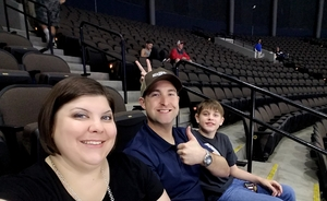 Amanda attended Jacksonville Icemen vs. Florida Everblades - ECHL on Apr 6th 2018 via VetTix