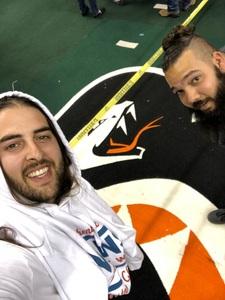 Justin attended Arizona Rattlers vs Nebraska Danger - IFL on Mar 24th 2018 via VetTix
