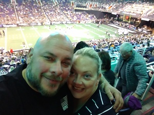 Danny attended Arizona Rattlers vs Nebraska Danger - IFL on Mar 24th 2018 via VetTix