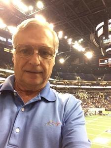 William attended Arizona Rattlers vs Nebraska Danger - IFL on Mar 24th 2018 via VetTix