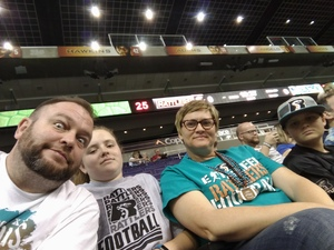 Erik attended Arizona Rattlers vs Nebraska Danger - IFL on Mar 24th 2018 via VetTix