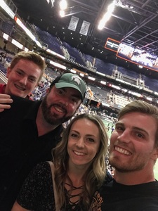 Jon attended Arizona Rattlers vs Nebraska Danger - IFL on Mar 24th 2018 via VetTix