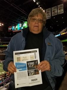 Terry attended Arizona Rattlers vs Nebraska Danger - IFL on Mar 24th 2018 via VetTix
