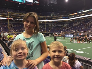 Lance attended Arizona Rattlers vs Nebraska Danger - IFL on Mar 24th 2018 via VetTix