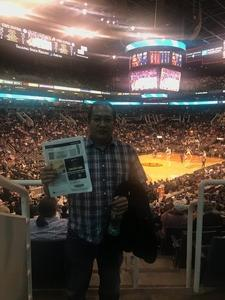 Alexander attended Phoenix Suns vs. Detroit Pistons - NBA on Mar 20th 2018 via VetTix