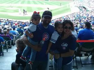 Jonathan attended Chicago Cubs vs. Colorado Rockies - MLB on May 2nd 2018 via VetTix
