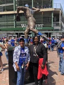 Lynda attended Chicago Cubs vs. Colorado Rockies - MLB on May 2nd 2018 via VetTix