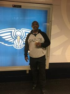 Tyrone attended New Orleans Pelicans vs. Los Angeles Lakers - NBA on Mar 22nd 2018 via VetTix