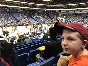 jeremiah attended New Orleans Pelicans vs. Los Angeles Lakers - NBA on Mar 22nd 2018 via VetTix