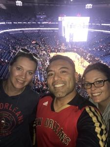 Mark attended New Orleans Pelicans vs. Los Angeles Lakers - NBA on Mar 22nd 2018 via VetTix