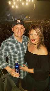 Russell attended Cole Swindell Special Guests: Chris Janson and Lauren Alaina (american Idol) on Mar 23rd 2018 via VetTix