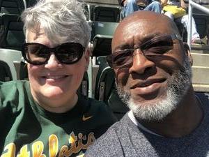 Bohlen Dennis attended Oakland Athletics vs. Los Angeles Angels - MLB on Mar 29th 2018 via VetTix