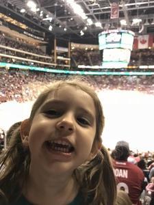 dominic attended Arizona Coyotes vs. St. Louis Blues - NHL on Mar 31st 2018 via VetTix