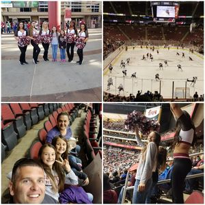 Chad attended Arizona Coyotes vs. St. Louis Blues - NHL on Mar 31st 2018 via VetTix