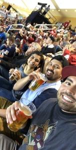 Raymond attended Arizona Coyotes vs. St. Louis Blues - NHL on Mar 31st 2018 via VetTix