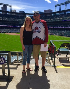 Benjamin attended Colorado Rockies vs. San Diego Padres - MLB on Apr 11th 2018 via VetTix