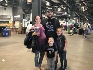Josh attended Colorado Rockies vs. San Diego Padres - MLB on Apr 11th 2018 via VetTix