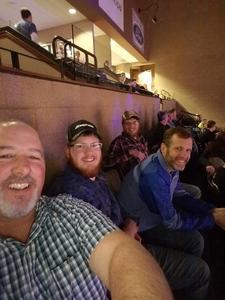 Tim attended Legacy Fighting Alliance 37 - Live Mixed Martial Arts on Apr 20th 2018 via VetTix