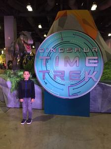 Patricia attended Discover the Dinosaurs - Time Trek - Presented by Vstar Entertainment on Apr 15th 2018 via VetTix