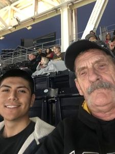 Thomas attended San Diego Padres vs. Colorado Rockies - MLB on Apr 2nd 2018 via VetTix