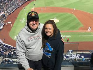 Patrick attended San Diego Padres vs. Colorado Rockies - MLB on Apr 2nd 2018 via VetTix