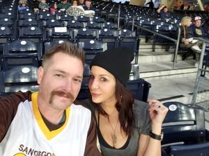 Nicholas attended San Diego Padres vs. Colorado Rockies - MLB on Apr 2nd 2018 via VetTix